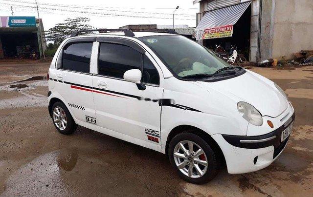 Bán xe Daewoo Matiz năm sản xuất 2005, màu trắng, xe nhập còn mới1