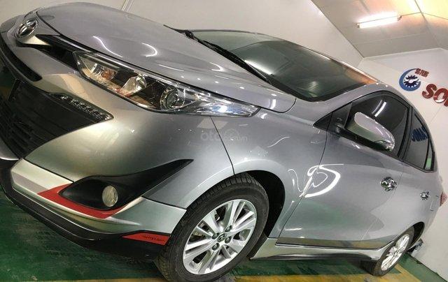 Xe Toyota Vios đăng ký 2018, màu bạc ít sử dụng giá chỉ 540 triệu đồng0