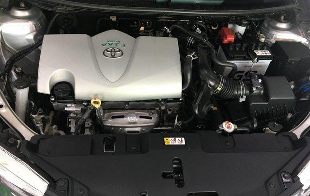 Xe Toyota Vios đăng ký 2018, màu bạc ít sử dụng giá chỉ 540 triệu đồng5