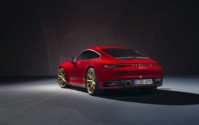 Porsche 911 thế hệ mới tiếp tục chào đón thành viên mới Carrera Coupe và Carrera Cabriolet0