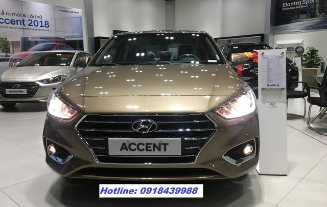 All New Accent 2019 MT FULL, giao xe ngay, thanh toán 145tr - LH: 09184399880