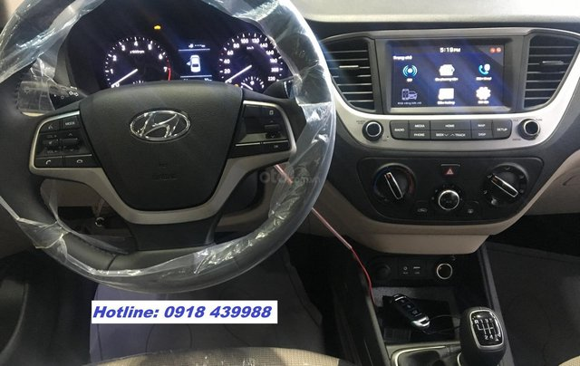 All New Accent 2019 MT FULL, giao xe ngay, thanh toán 145tr - LH: 09184399883