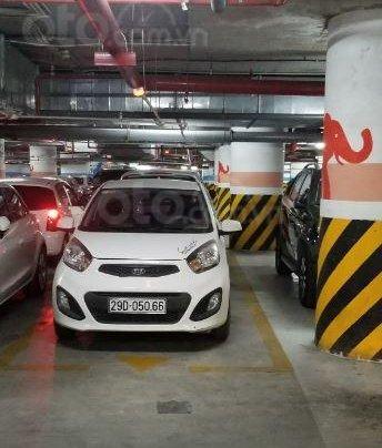 Bán Kia Morning Van sản xuất 2012, màu trắng, nhập khẩu chính chủ, giá tốt1