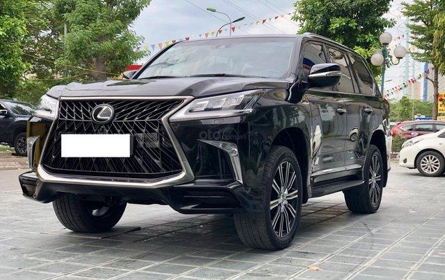 Bán Lexus LX570 Super Sport sản xuất 2018, màu đen siêu lướt, LH 094.539.2468 Ms. Hương2
