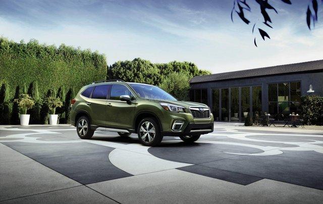 Subaru Forester 2020 cập nhật nhiều công nghệ trợ lái hiện đại1