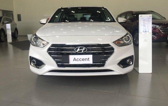 Hyundai Accent 1.4AT đặc biệt sản xuất 2019, màu trắng, xe giao ngay0