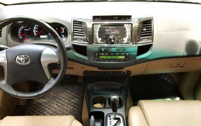 Bán Toyota Fortuner 2.7 máy xăng, đời 2015, mới 98%, ngay chủ đứng tên. LH 0917174050 Thanh8