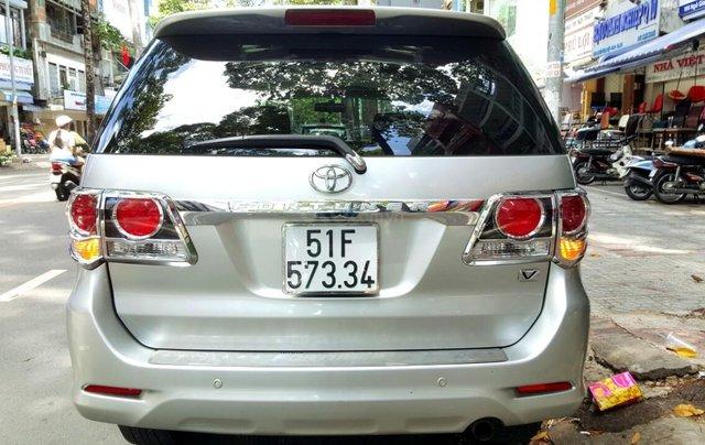 Bán Toyota Fortuner 2.7 máy xăng, đời 2015, mới 98%, ngay chủ đứng tên. LH 0917174050 Thanh5