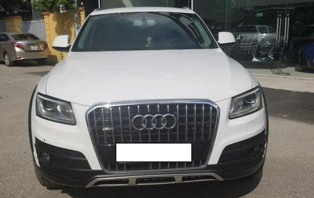Bán Audi Q5 sx 2015, màu trắng, nhập khẩu0