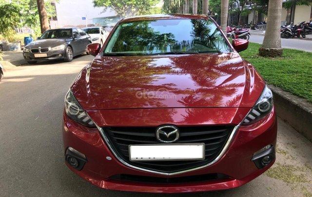 Cần bán Mazda 3 đời 2016, màu đỏ xe gia đình sử dụng ít cần bán lại 570 triệu0