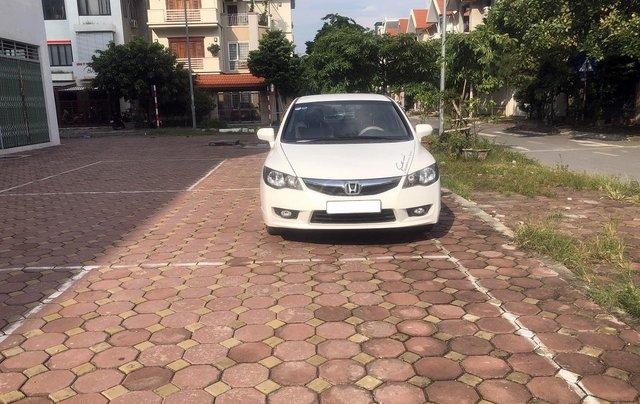 Bán xe Honda Civic 1.8 AT đời 2010, màu trắng, biển Hà Nội0