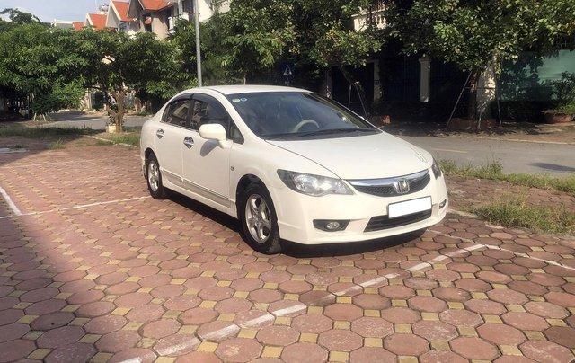 Bán xe Honda Civic 1.8 AT đời 2010, màu trắng, biển Hà Nội1