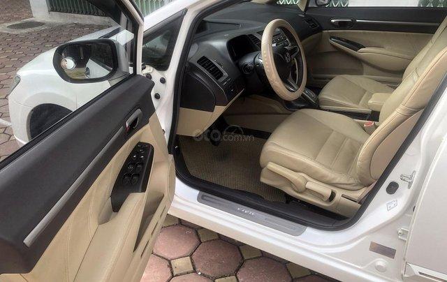 Bán xe Honda Civic 1.8 AT đời 2010, màu trắng, biển Hà Nội5