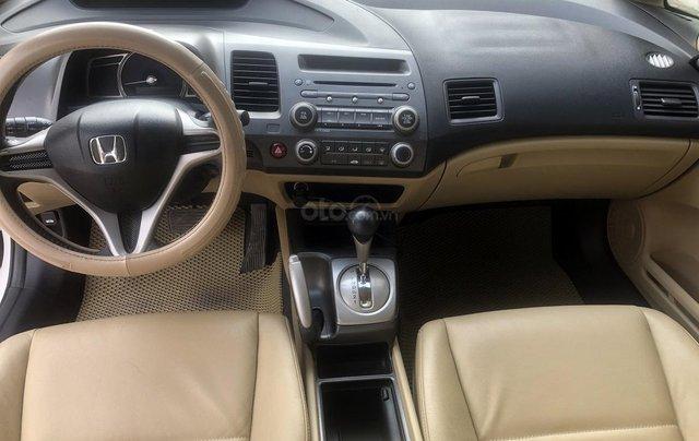 Bán xe Honda Civic 1.8 AT đời 2010, màu trắng, biển Hà Nội7