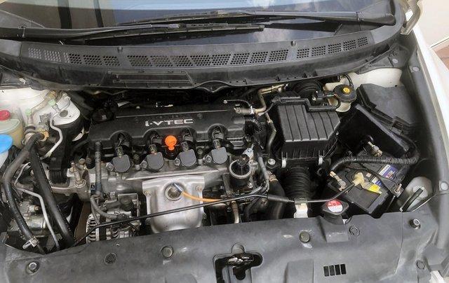 Bán xe Honda Civic 1.8 AT đời 2010, màu trắng, biển Hà Nội10