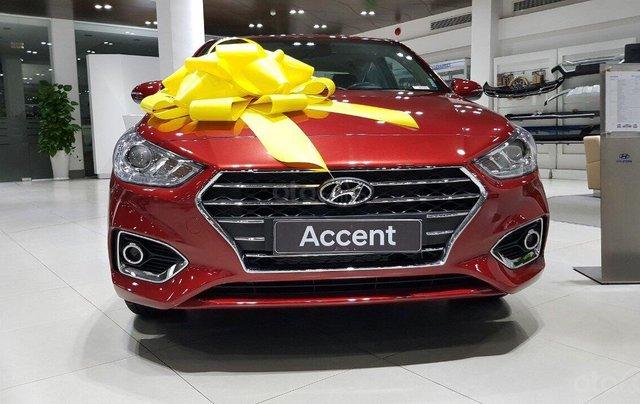 Bán xe Hyundai Accent 1.4 MT sản xuất năm 2019, màu đỏ, giá 430tr0