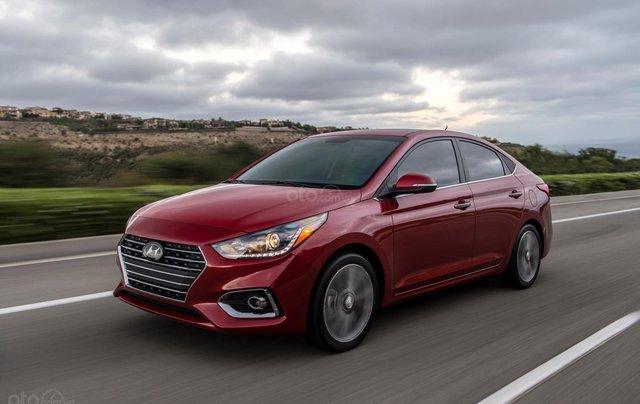 Bán xe Hyundai Accent 1.4 MT sản xuất năm 2019, màu đỏ, giá 430tr1