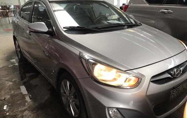 Bán Hyundai Accent 1.4AT màu bạc số tự động, nhập Hàn Quốc 2012, biển Đồng Nai, đi 41000km1