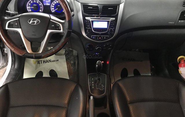 Bán Hyundai Accent 1.4AT màu bạc số tự động, nhập Hàn Quốc 2012, biển Đồng Nai, đi 41000km5