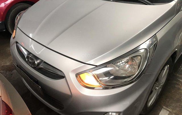 Bán Hyundai Accent 1.4AT màu bạc số tự động, nhập Hàn Quốc 2012, biển Đồng Nai, đi 41000km6