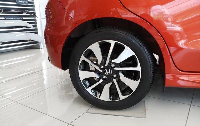 Honda Mỹ Đình bán Honda Brio OP1 màu cam nóc đen năm 2020 nhập khẩu, giá tốt2