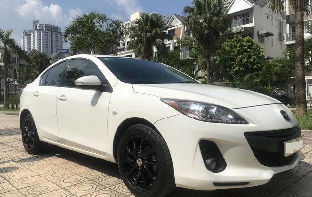 Bán xe Mazda 3 1.6 năm sản xuất 2014, màu trắng, giá tốt3