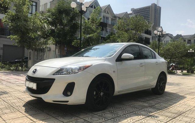 Bán xe Mazda 3 1.6 năm sản xuất 2014, màu trắng, giá tốt5