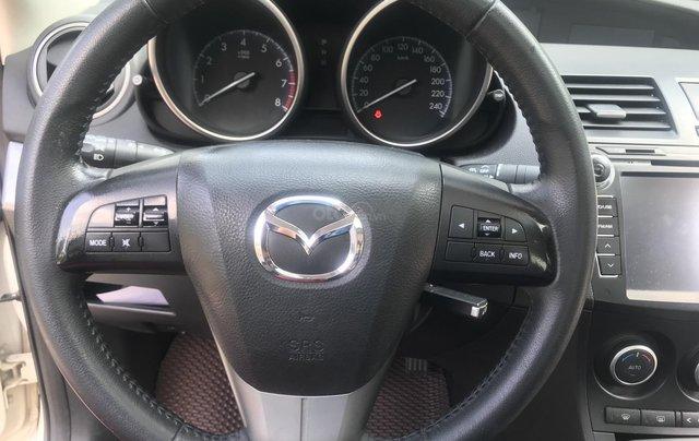 Bán xe Mazda 3 1.6 năm sản xuất 2014, màu trắng, giá tốt10