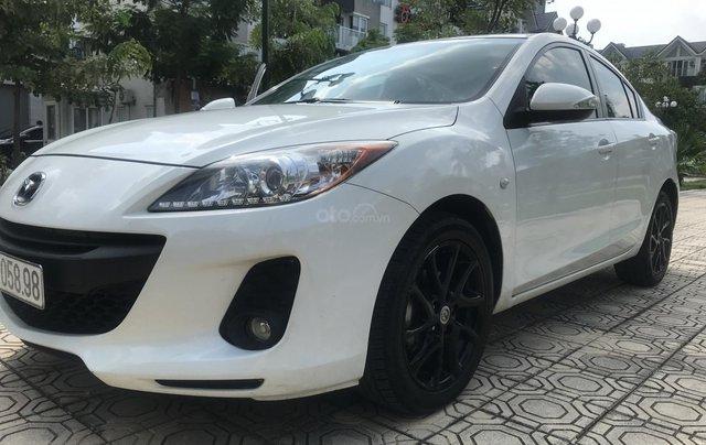 Bán xe Mazda 3 1.6 năm sản xuất 2014, màu trắng, giá tốt12