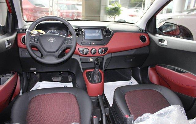 """""""Sốc"""" Tặng 15 triệu phụ kiện - Chỉ 125 triệu - Hyundai Grand i10 Sedan 1.2MT 2019, trả góp 85% - SĐT 09332226385"""