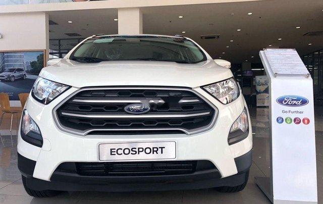 Bán xe Ford EcoSport 2019, màu trắng, mới hoàn toàn4
