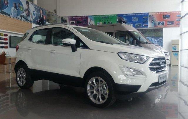Bán xe Ford EcoSport 2019, màu trắng, mới hoàn toàn1