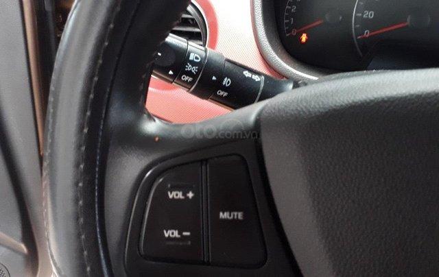 Hãng bán i10 sedan 1.2AT 2018, màu nâu, đúng chất, giá TL, hỗ trợ góp4