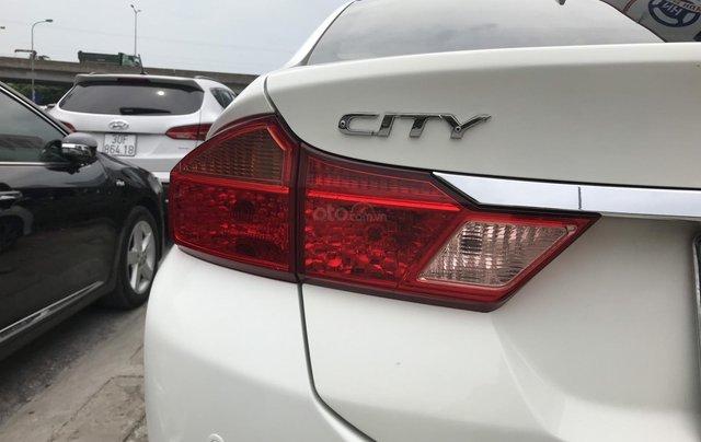 Bán Honda City 1.5AT đời 2015, màu trắng, số tự động4