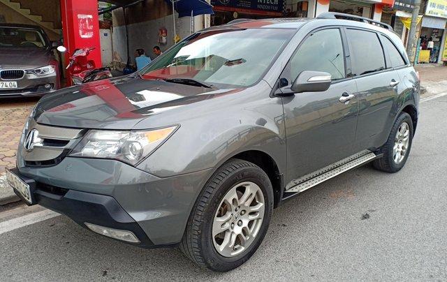 Bán Acura MDX SH AWD năm sản xuất 2007, màu bạc, xe nhập1
