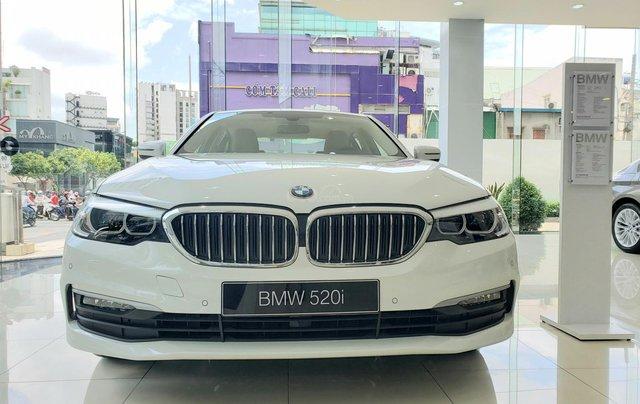 BMW 5 Series 520i, màu trắng, nhập khẩu Đức, sang trọng, đẳng cấp0