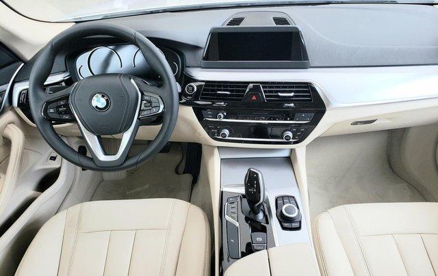 BMW 5 Series 520i, màu trắng, nhập khẩu Đức, sang trọng, đẳng cấp6