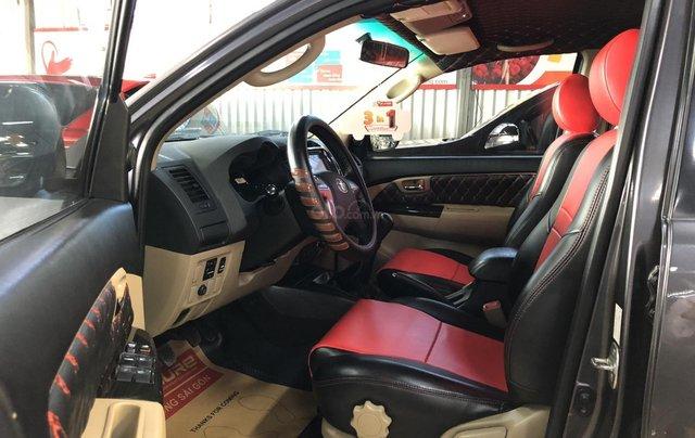 Bán Fortuner G 2014 màu xám lông chuột, full option, xe cực đẹp, giá cả còn thương lượng, KH 0907969685 nhận ngay ưu đãi6