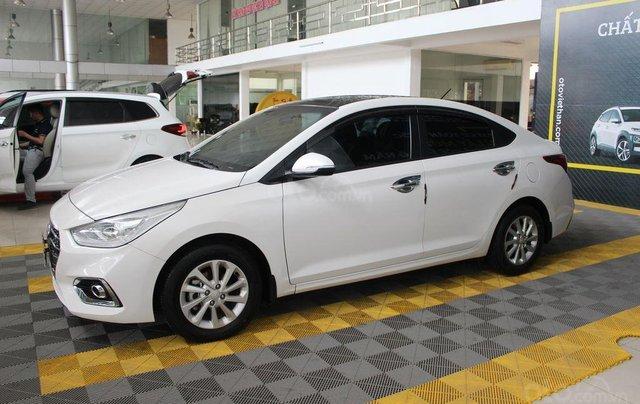 Bán ô tô Hyundai Accent 1.4AT đời 2018, màu trắng, 508tr0