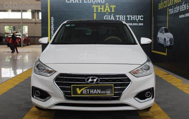 Bán ô tô Hyundai Accent 1.4AT đời 2018, màu trắng, 508tr1