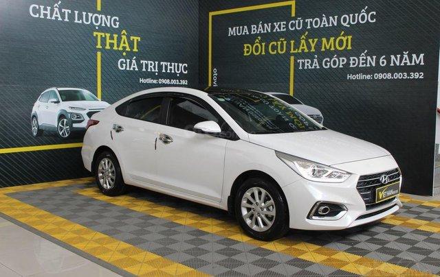 Bán ô tô Hyundai Accent 1.4AT đời 2018, màu trắng, 508tr3