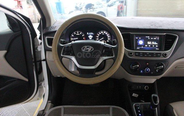 Bán ô tô Hyundai Accent 1.4AT đời 2018, màu trắng, 508tr9