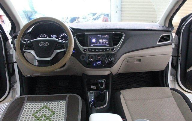Bán ô tô Hyundai Accent 1.4AT đời 2018, màu trắng, 508tr8