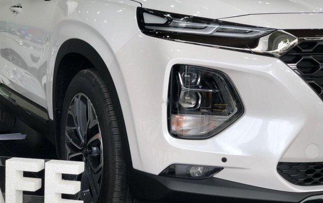 Cần bán xe Hyundai Santa Fe đời 2019, màu trắng2