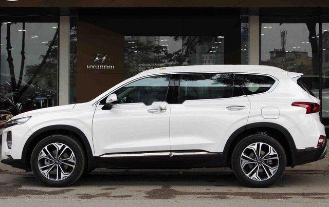 Cần bán xe Hyundai Santa Fe đời 2019, màu trắng1