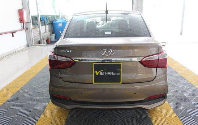 Bán Hyundai Grand i10 1.2AT sản xuất năm 2018, màu nâu2