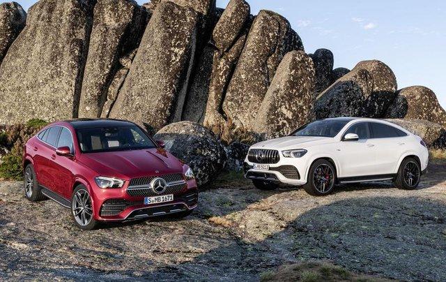 Mercedes-Benz GLE Coupe 2020 - đối thủ của BMW X6 ra mắt tại sự kiện Frankfurt 20193