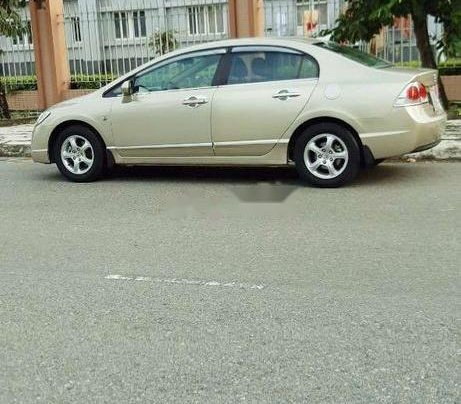 Cần bán gấp Honda Civic đời 2007, màu vàng3