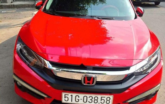 Bán ô tô Honda Civic đời 2017, màu đỏ, xe nhập1