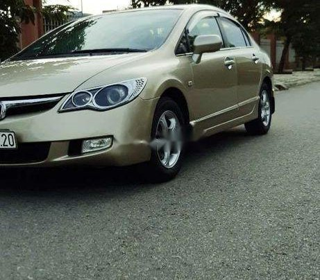 Cần bán gấp Honda Civic đời 2007, màu vàng9